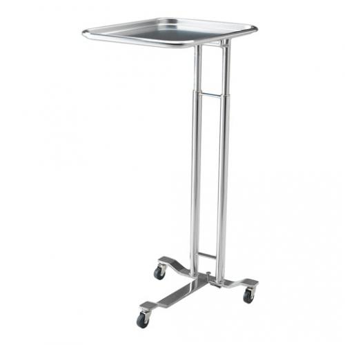 1069-SS Foot-Pedal Operated Mayo Stand