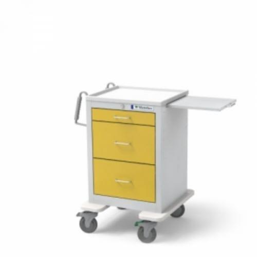 3-Drawer Jr. Short Isolation Cart