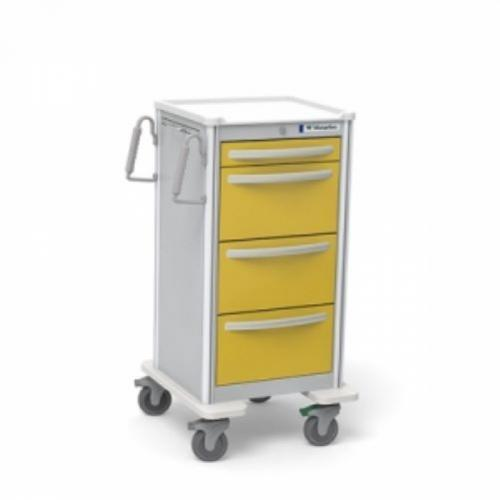 4-Drawer Jr. X-Tall  Isolation Cart