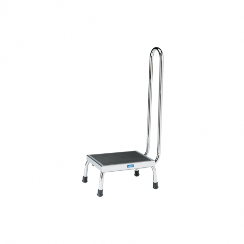 P-10-A Step Stool w/handrail