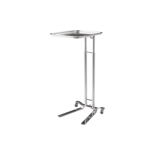 P-1066-SS Foot-Pedal Operated Mayo Stand