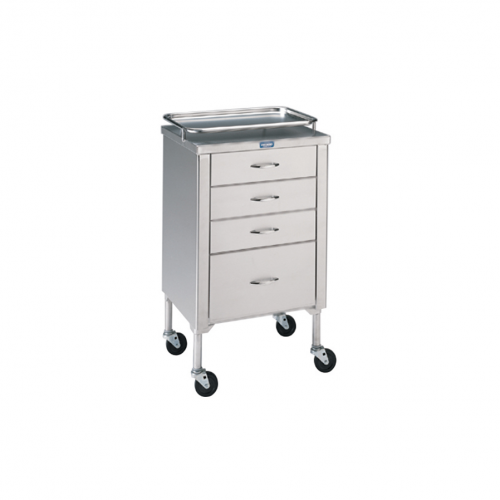 P-1105-SS Anesthetist Cabinet w/Drawers