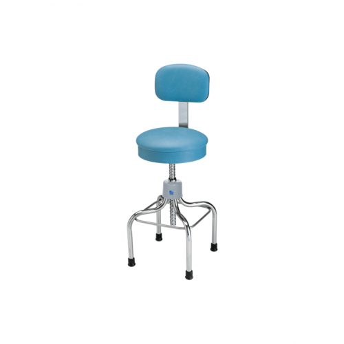 P-39 Chrome Stool