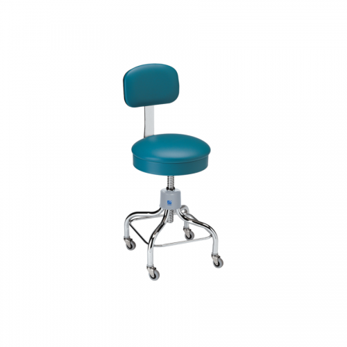 P-51-R Chrome Stool