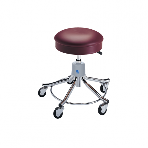 P-536-GS Chrome Stool