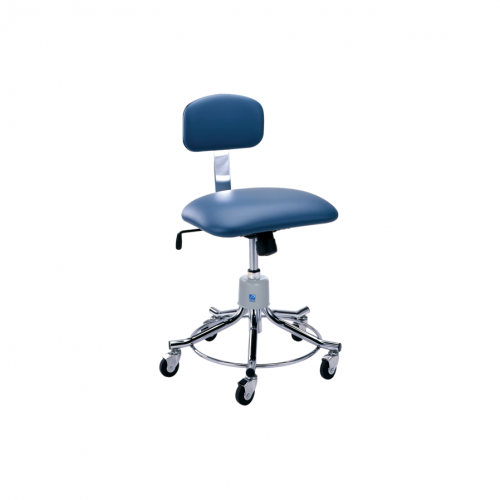 P-551-GS Chrome Stool