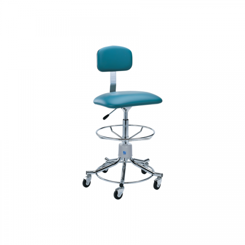 P-555-GS Chrome Stool