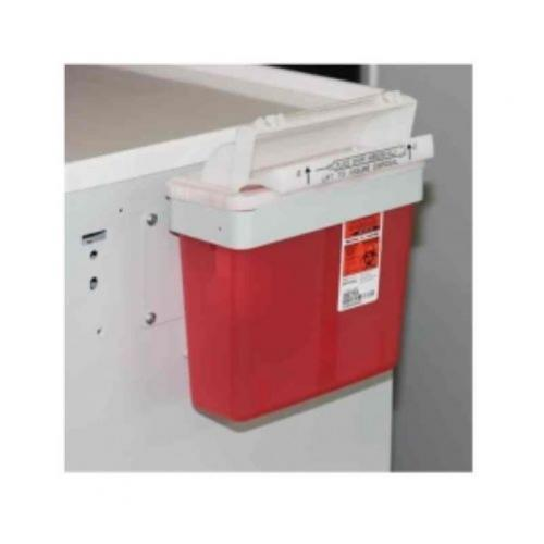 Non-Locking Sharps Container w/Bracket