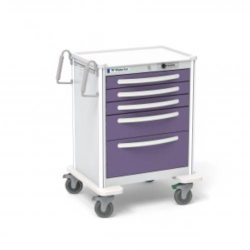 5-Drawer Medium Anesthesia Cart