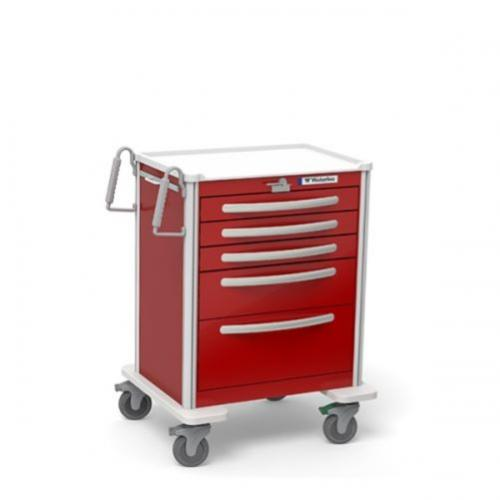 5-Drawer Medium Emergency Cart