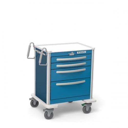 4-Drawer Short Emergency Cart