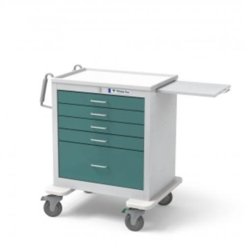 5-Drawer Short  Anesthesia Cart
