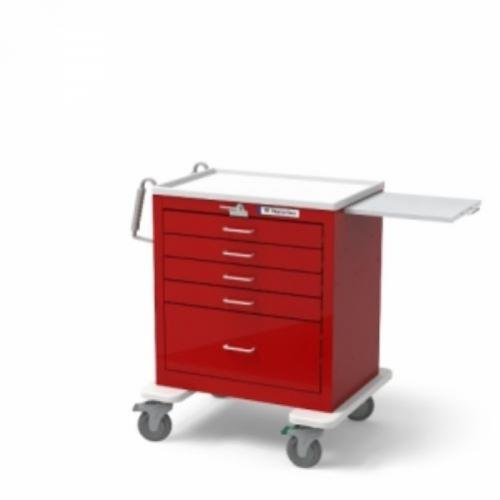 5-Drawer Short Emergency Cart