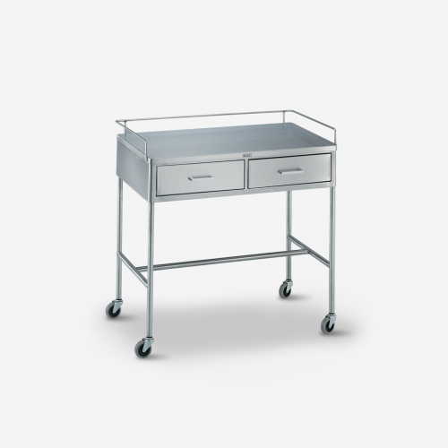 UT-3000 Utility Table  /Prep Stand w/ rails & 2 drawers