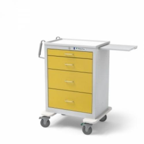 4-Drawer Tall  Isolation Cart
