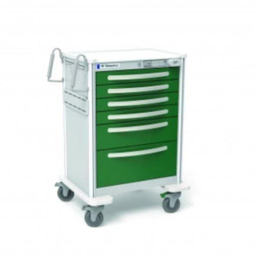 6-Drawer Tall Anesthesia Cart