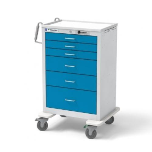 6-Drawer X-Tall  Anesthesia Cart